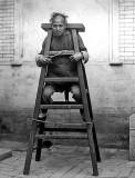 Prisoner on a ladder