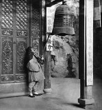 c. 1871 - Monk ringing the bell