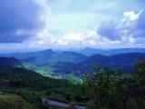 View toward Laos