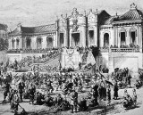 1860 - Looting of the Summer Palace by Anglo-French forces