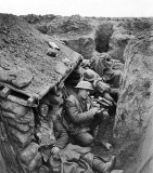 1917 - In the trenches near Willerval
