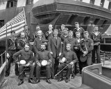 1898 - Officers and crew, USS Free Lance