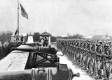 August 13, 1898 - Raising the American flag over Fort Santiago, Manila