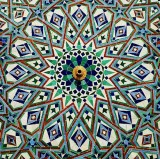 Islamic Design on Hassan II Mosque in Casablanca
