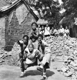 1902 - Mission School students