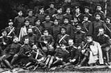 c. 1880 - Officers of the Imperial Russian Army