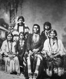 c. 1880 - Chief Joseph with his family