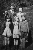 1935 - Heinrich Himmler and family