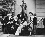26 May 1857 - Queen Victoria, Prince Albert and family