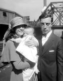 November 1, 1922 - Buster Keaton family