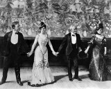 c. 1897 -The Four Cohans, a family vaudeville act
