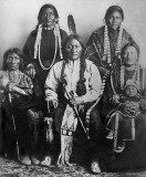 1881 - Sitting Bull and family