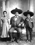 c. 1910 - Family of three