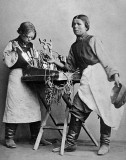 c. 1871 - Locksmith and assistant