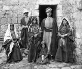 c. 1905 - Palestinian family