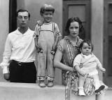 c. 1925 - Buster Keaton family, expanded