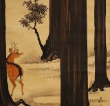 1880's - Deer in a Forest