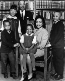 1966 - Martin Luther King, Jr. and family