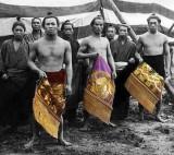 1890's - Japanese wrestlers