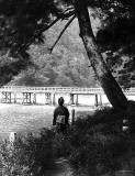 c. 1902 - Arashiyama River and the Moon Crossing Bridge