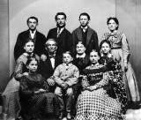 October 1868 - Jesse James and family
