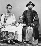c. 1870 - Chinese family