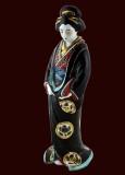c. 1910c - Kutani porcelain figure