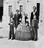 1861 - Abraham Lincoln and family