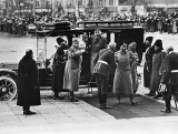 1913 - Nicholas arriving in St. Petersburg