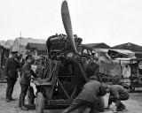 July 1918 - Testing a Rolls-Royce Eagle Engine