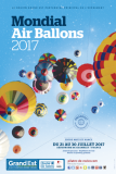 Affiche officielle du Mondial Air Ballons 2017