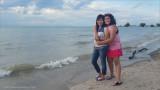 My Family on the Beach!