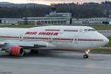 Air India VT-EVB, ZRH, 23.01.18