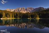 Dolomiti - lago di carezza