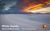 Tone Poems in Blue & White: White Sands NM