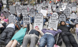 NYC Die In for Health Care - 6-4-17