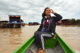 Lake Tonlé Sap, Floating Houses - Girl
