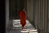 Monk in the Corridor