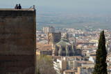 Tower of La Vela and Cathedral of Granada