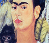 Frida and Monkey
