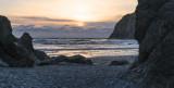 Sunset,  Ruby Beach