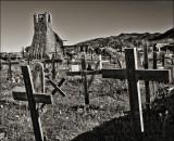Pueblo Cemetery, Taos