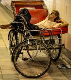 Trishaw Driver Resting
