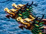 Dragon Boats eager to race!  Aberdeen, Hong Kong Island