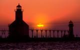 St. Joseph North Pier Inner Lighthouse