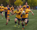 Queen's vs Laurier M-Rugby 11-04-17