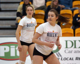 Queen's vs Waterloo W-Volleyball 11-11-17