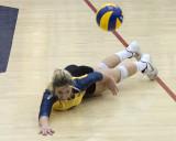 Queen's vs Ryerson W-Volleyball 02-17-18