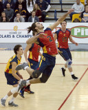 Queen's vs Ryerson M-Volleyball 02-17-18