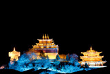 Temple at night, Shangri La_8714